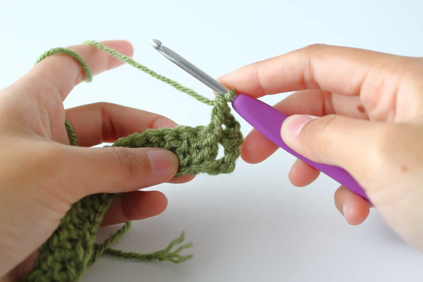 How to Make a Stretchy Crochet Ribbing