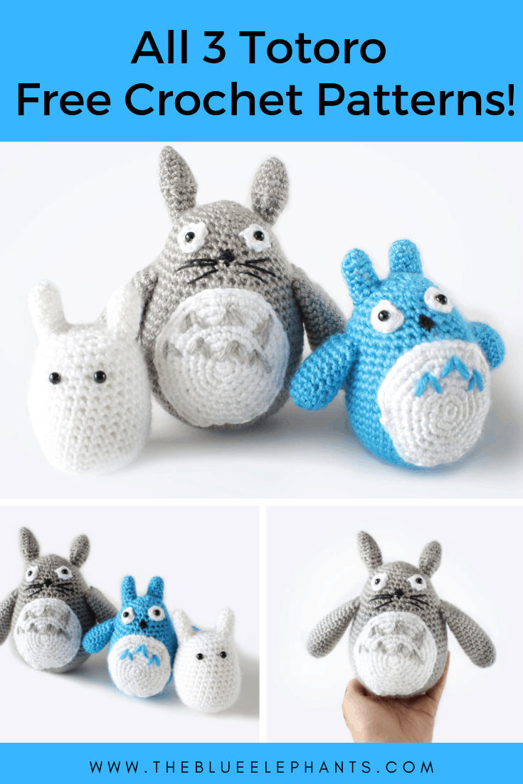 free crochet totoro patterns