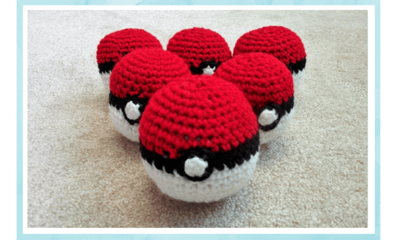 How To Make A Crochet Ball Pokeball Pattern
