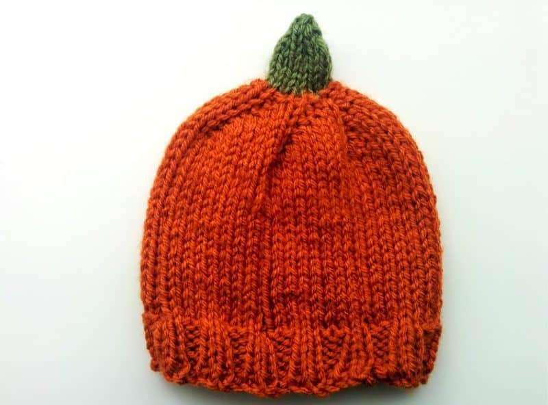 Baby Pumpkin beanie Pattern