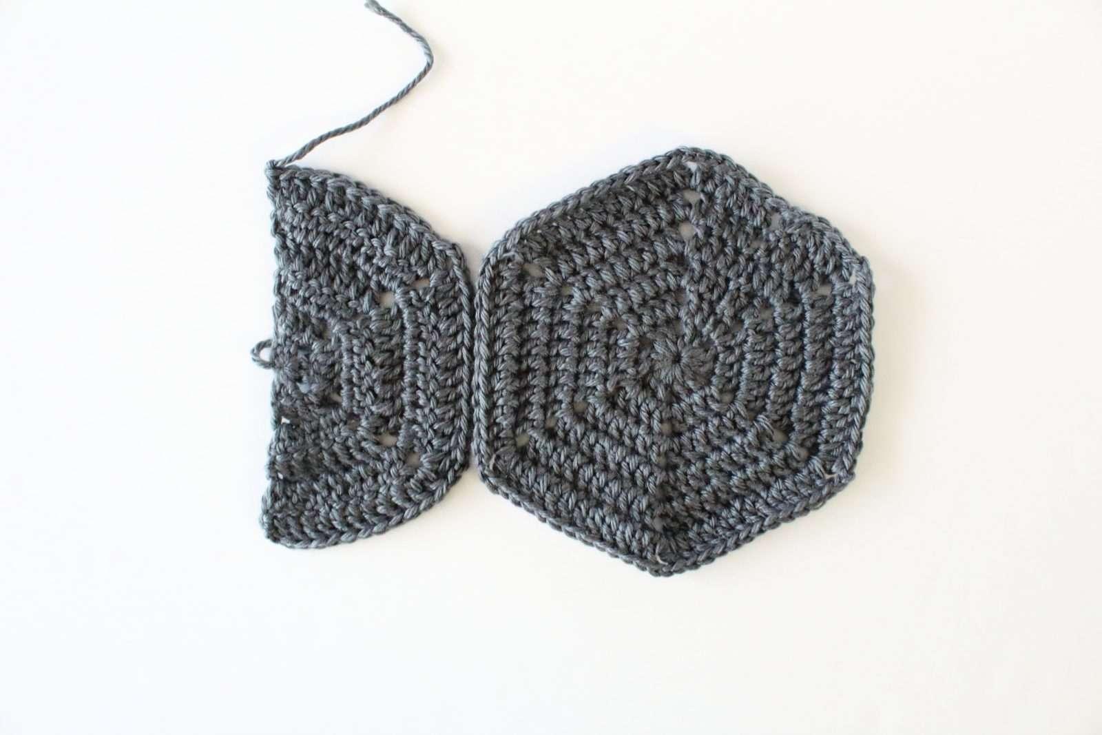how to crochet hexagons