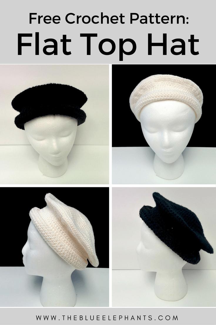 Easy crochet Hat Afghani hat pattern