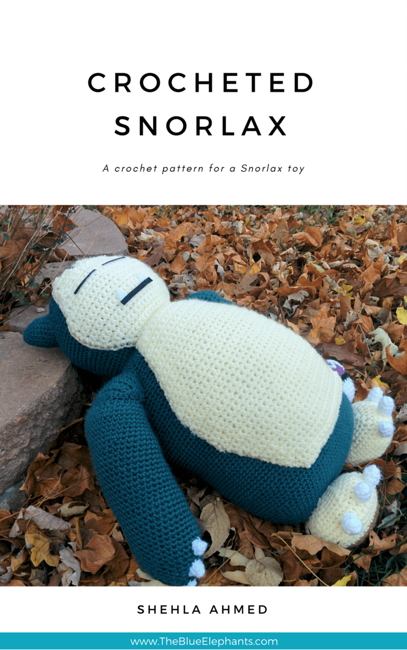 Crocheted Snorlax PDF