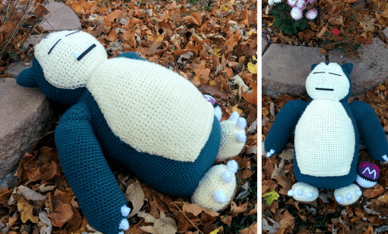 Pokémon Snorlax - Amigurumi no Elo7   Listeliê - Arte em Crochê ...   482x800