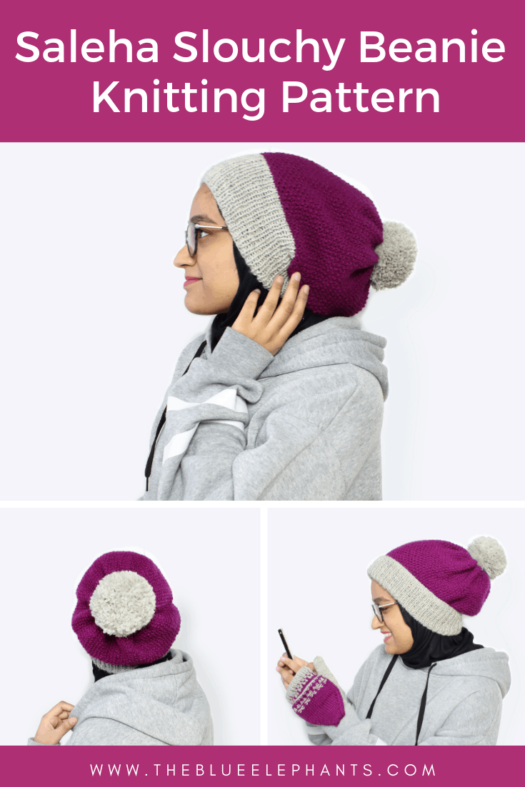 saleha slouchy beanie knitting pattern