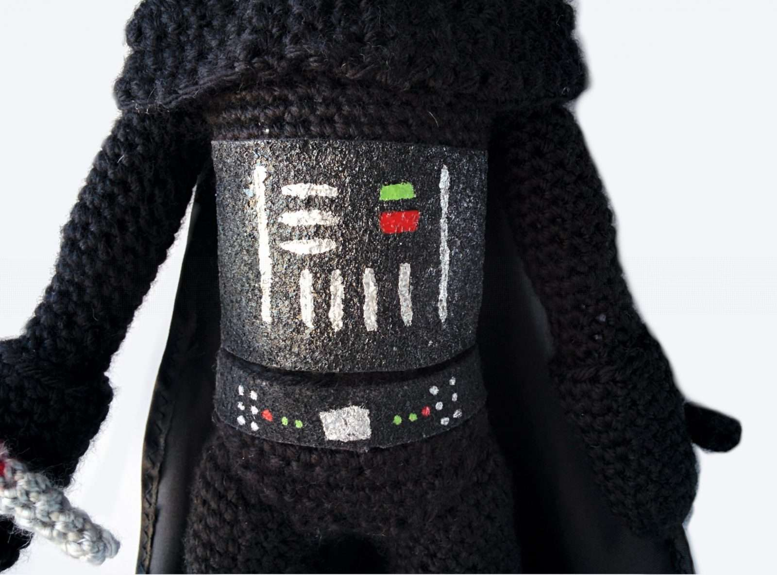 Crocheted Darth Vader: Pattern, Details, and My Changes | | 1184x1600
