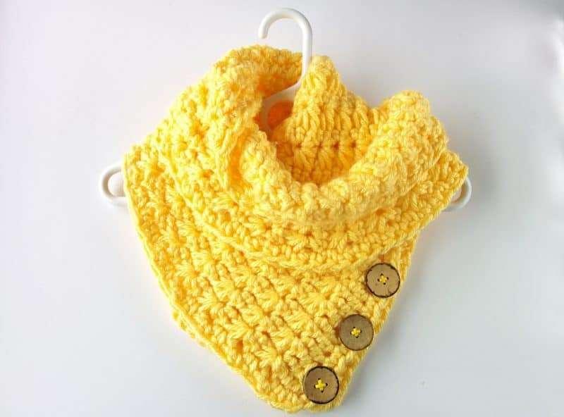 The Lemonade Scarf Free Crochet Scarf Pattern