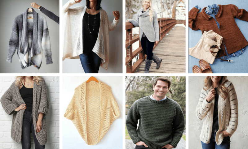 Top 10 Crochet Sweater Patterns |