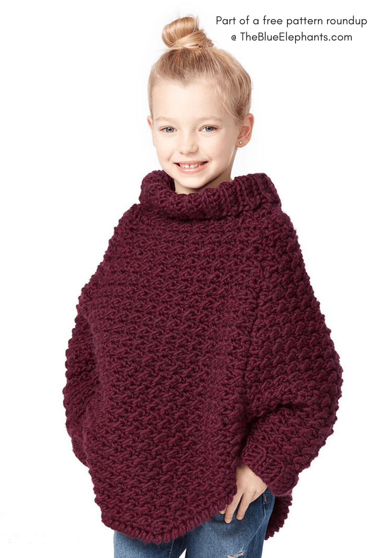 b9b0d0438 20+ Free Crochet Sweater Patterns for Adults and Kids!