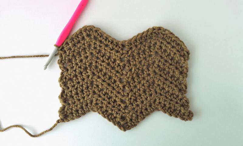 How To Crochet Chevron Stitch Video Written
