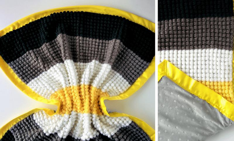 Bright Stars Blanket Simple Crochet Blanket Pattern