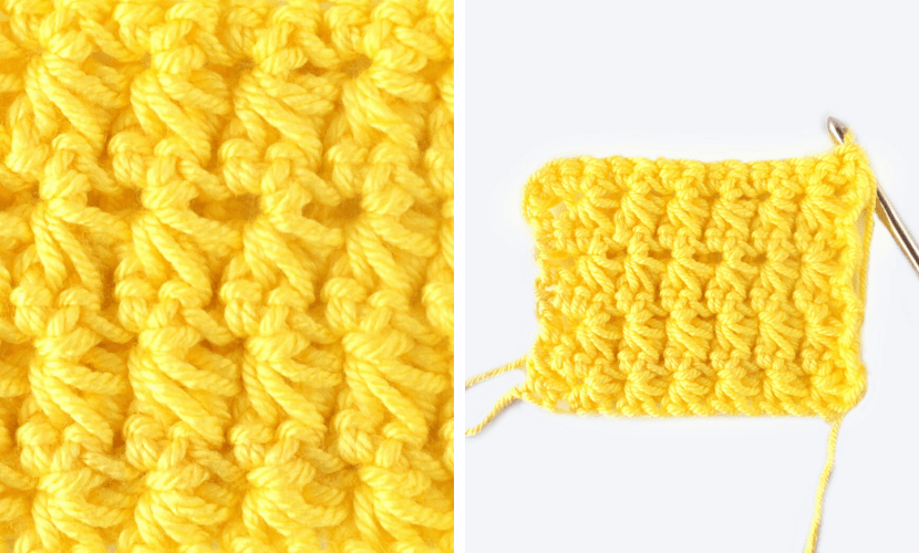 How To Star Stitch Crochet Tutorial Video Written