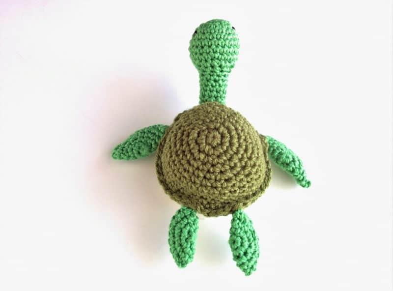 Sea Turtle Amigurumi Free Crochet Pattern | 592x800