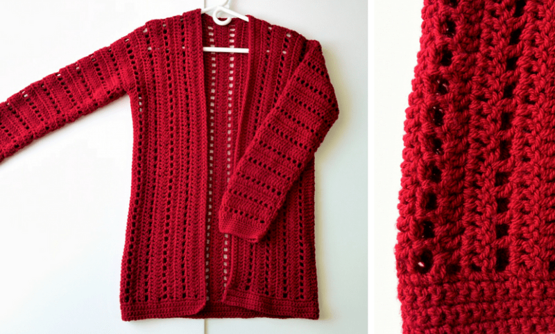 a78378afe The Easiest Crochet Cardigan + 8 Crochet Kits For Beginners