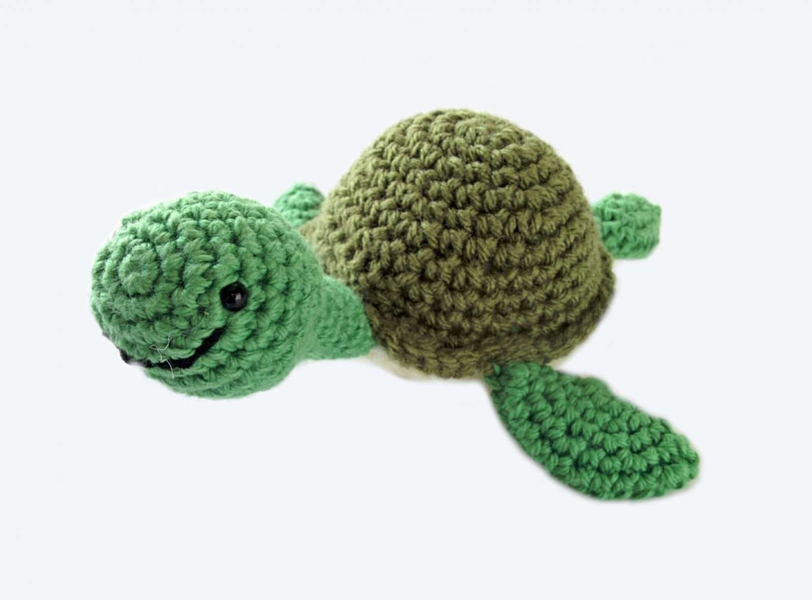 7 Awesome Free Sea Turtle Crochet Patterns - Knit And Crochet Daily | 1184x1600