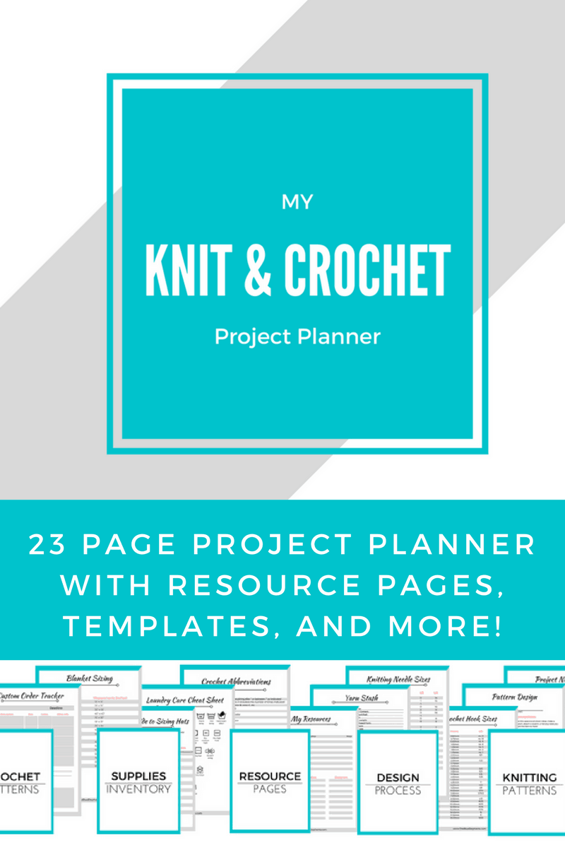 crocheting planner