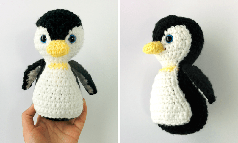 Penelope The Penguin Free Penguin Crochet Pattern