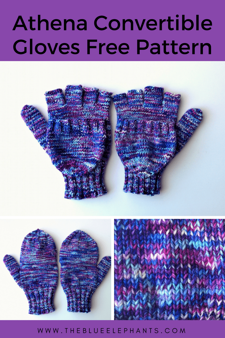 Athena Fingerless Gloves Knitting Pattern