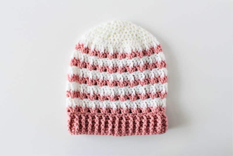 6bad96182d6 Rosebud  Crochet Slouchy Beanie Pattern