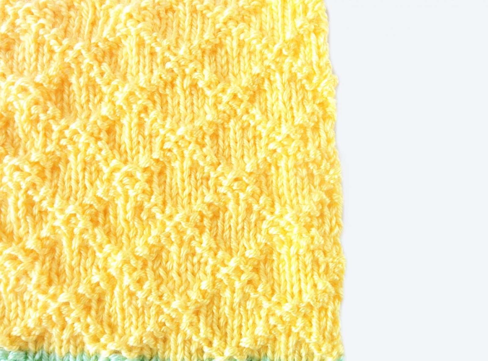 dina free baby blanket knitting pattern