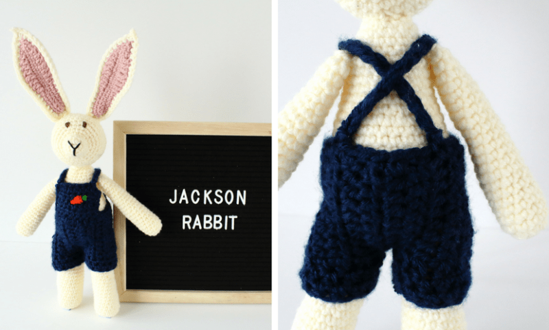 Jackson Rabbit A Crochet Bunny Pattern