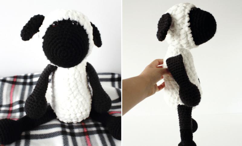 Free Amigurumi Patterns Uk : Sammy the crochet sheep free amigurumi pattern