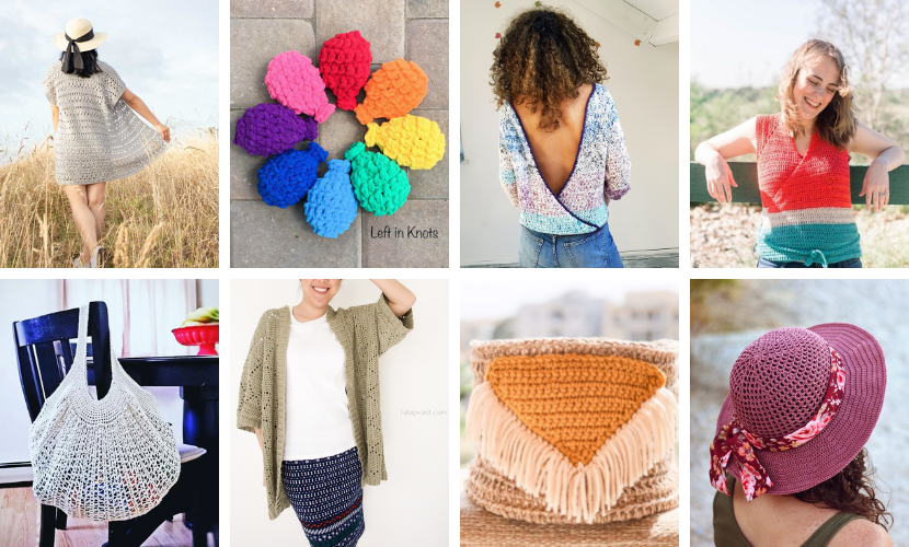 25 Free Summer Crochet Patterns to Try in 2021!