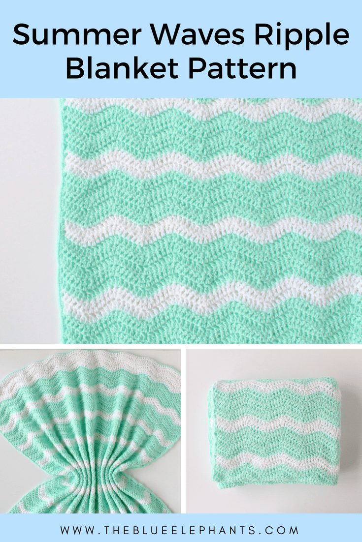 Crochet Wave Pattern Simple Design Inspiration