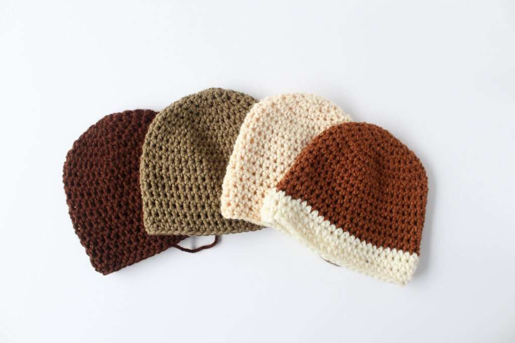 How to Crochet Hat Sizes in 3 Easy Steps