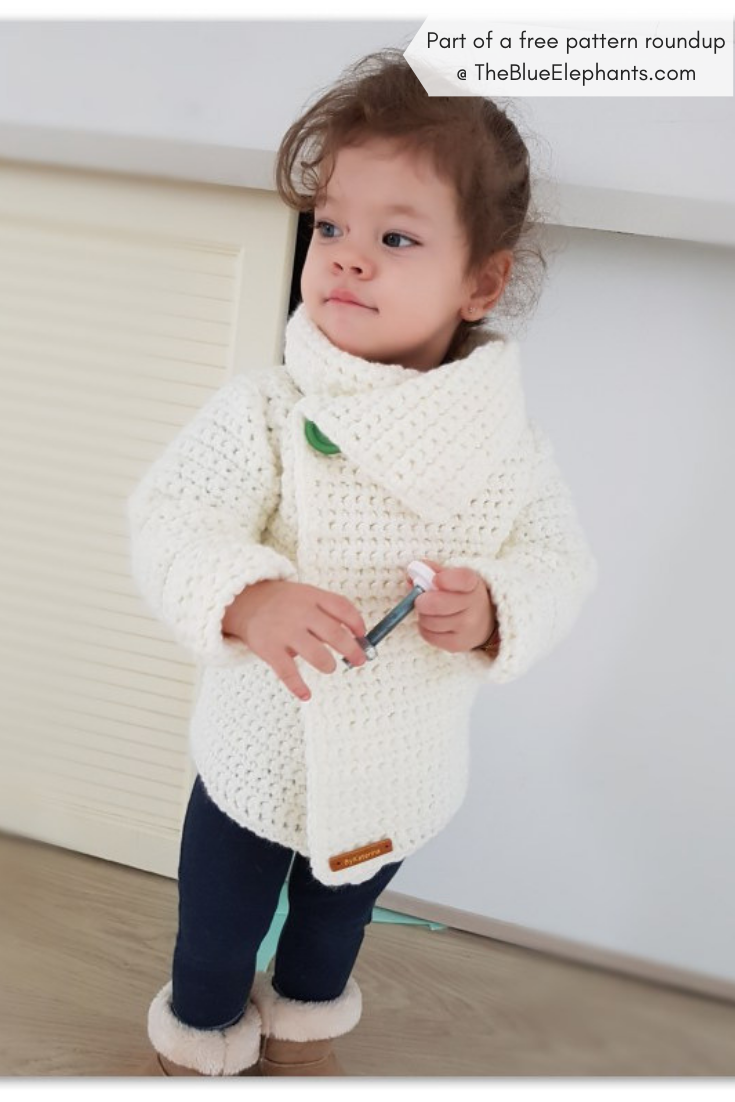 20 Free Crochet Sweater Patterns For Adults And Kids