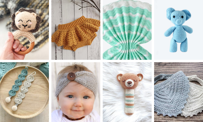 25+ Baby Crochet Patterns: Quick Crochet Ideas for Boys & Girls!