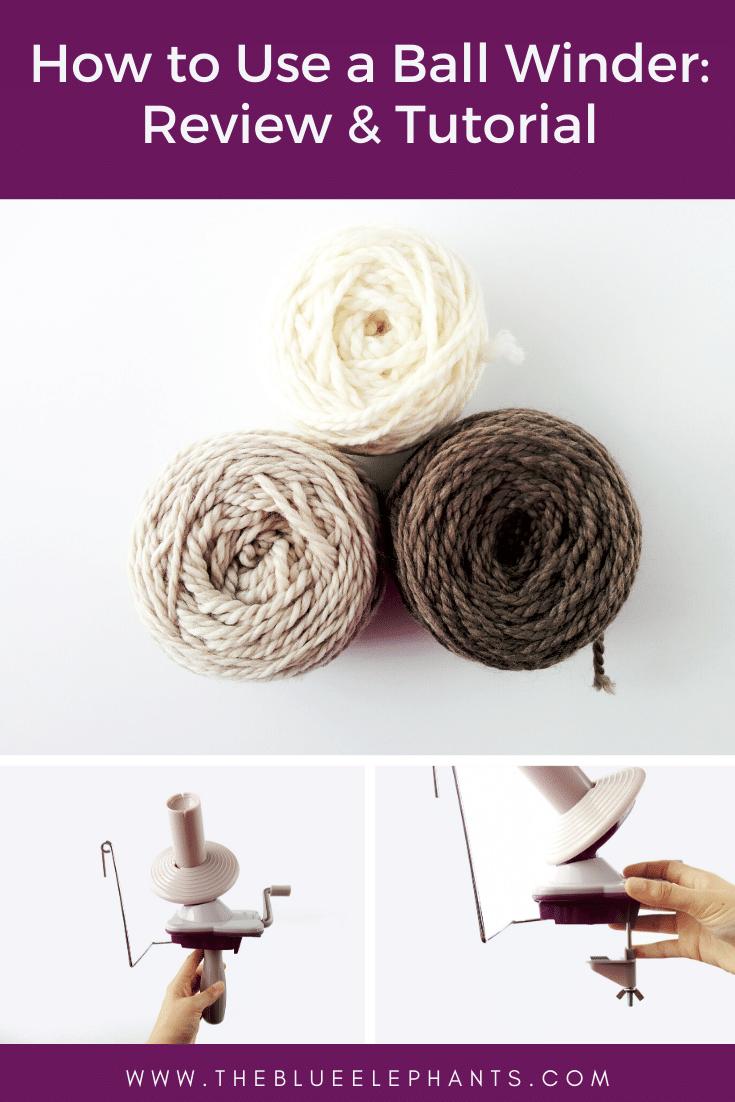 How to make a yarn ball