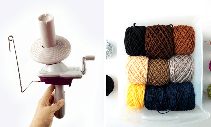How To Make A Yarn Ball With The Knit Picks Ball Winder