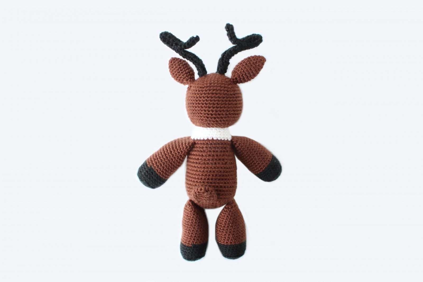 crochet reindeer pattern