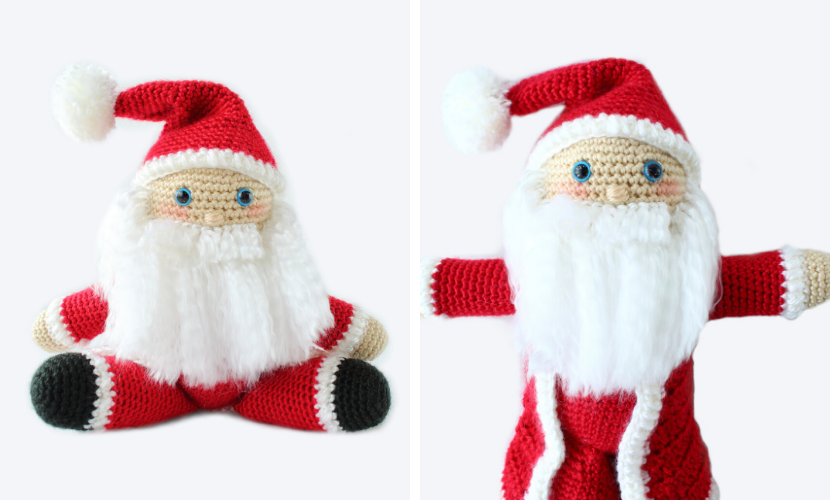 Here Comes Santa! pattern by Melissa Trotter | Christmas crochet ... | 500x830