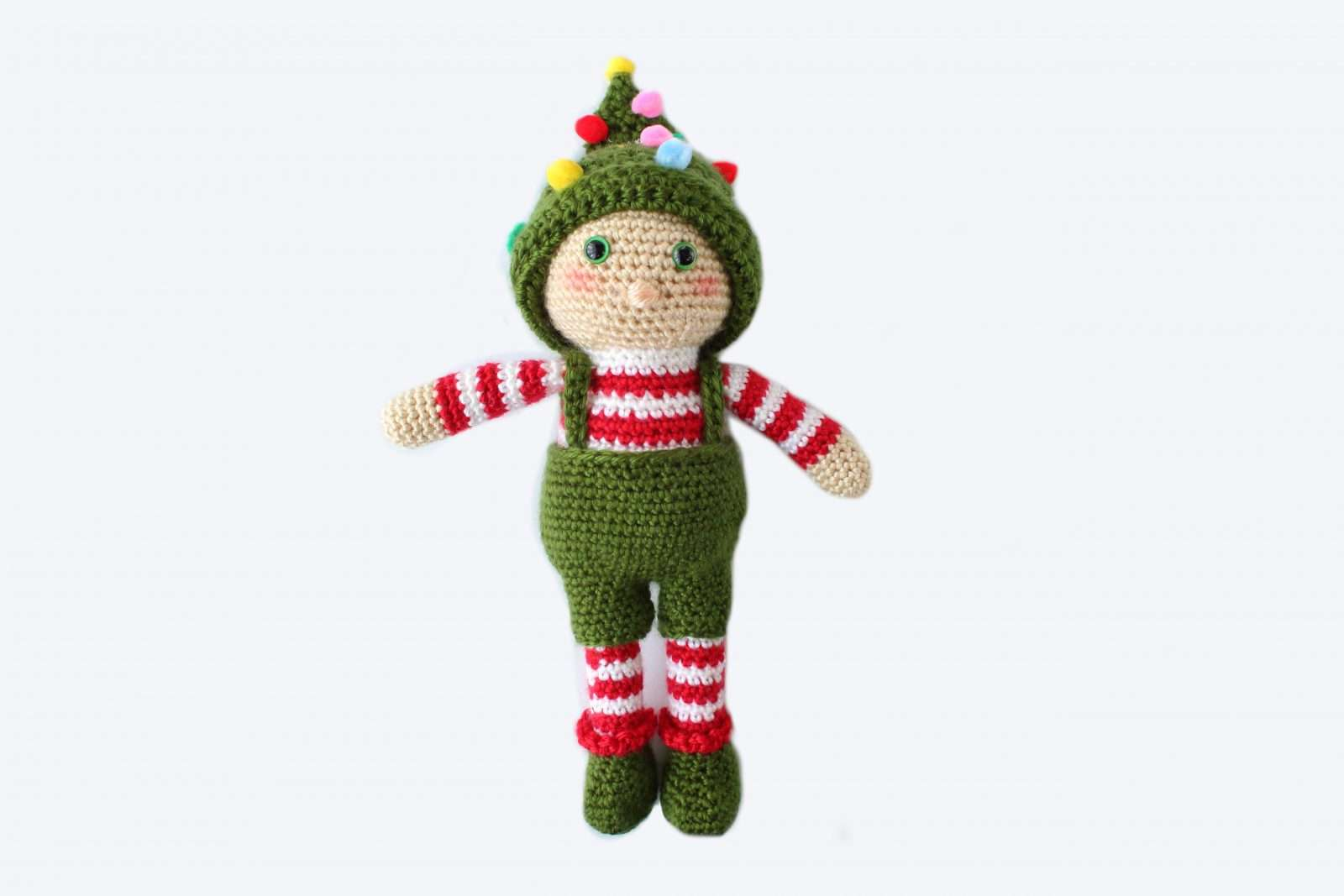 Free Pattern: Small Christmas Elf | 1067x1600
