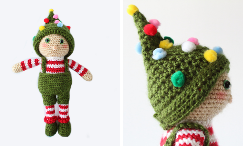 Christmas Elves Pattern – AmigurumiBB | 500x830