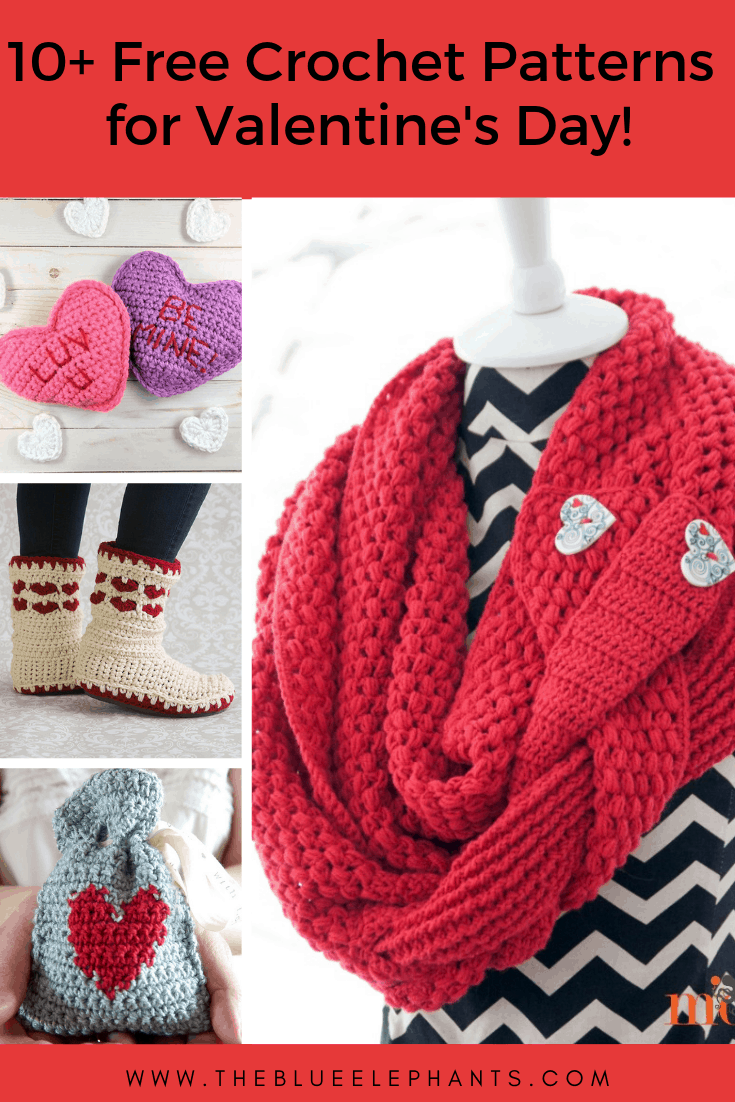 10 Free Crochet Projects For Valentines Day