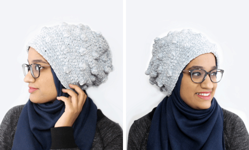 Tempest Beanie: How to Crochet a Beanie with Velvet Yarn
