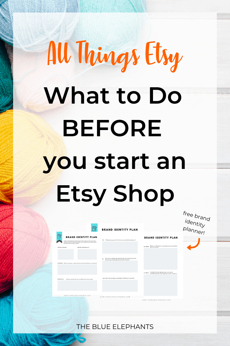 All Things Etsy: What to do Before you start an Etsy shop