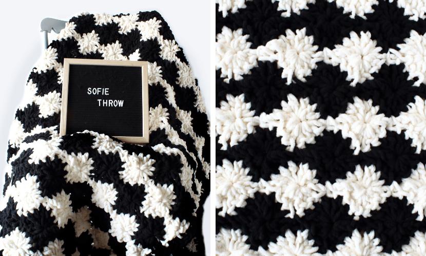 Sofie's Throw: Free Crochet Blanket Pattern