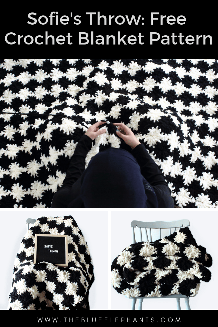 Sofie's Super Plush Crochet Blanket: Free Pattern with Blanket Yarn |