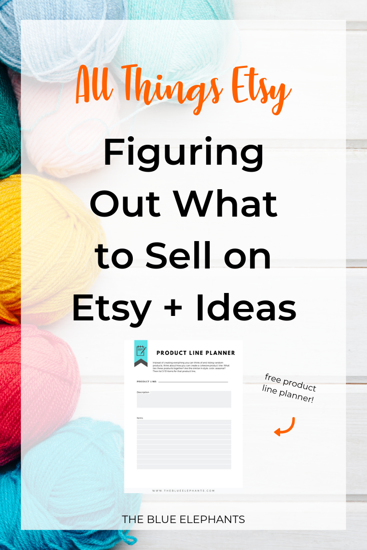 What to Sell on Etsy