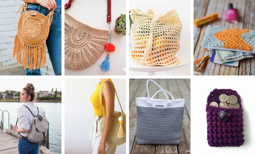 10 Crochet Bags You Need to Make: Free Crochet Pattern Roundup