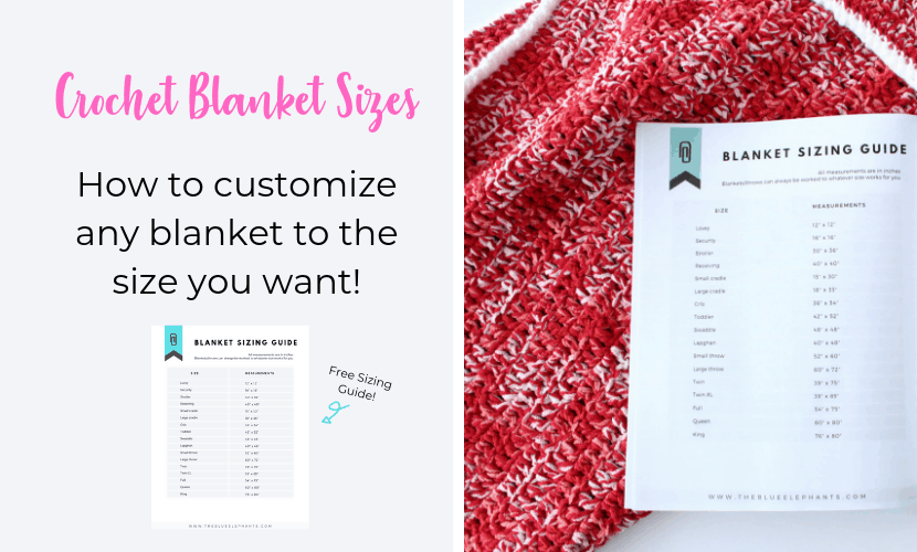 picture about Printable Cheat Sheet referred to as How in direction of Personalize Crochet Blanket Dimensions: Absolutely free Printable Cheat