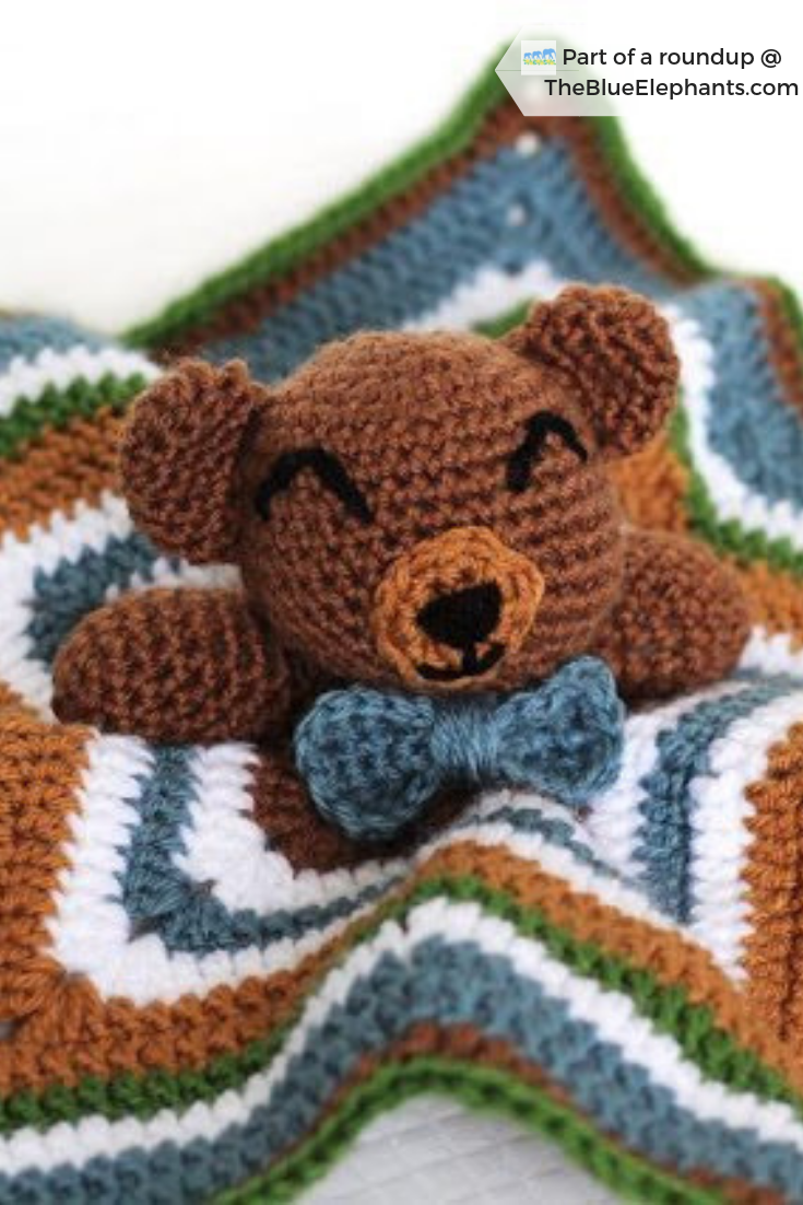 21 Free Crochet Patterns for Critter Lovies: Roundup by