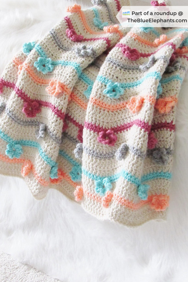 21 Free Crochet Patterns For Colorful Blankets