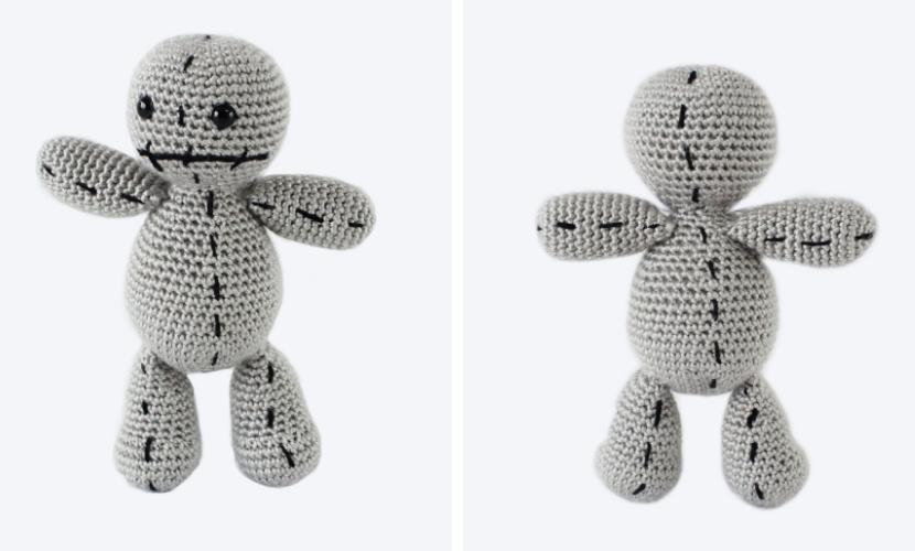 Scrap the Voodoo Doll: Free Halloween Crochet Pattern