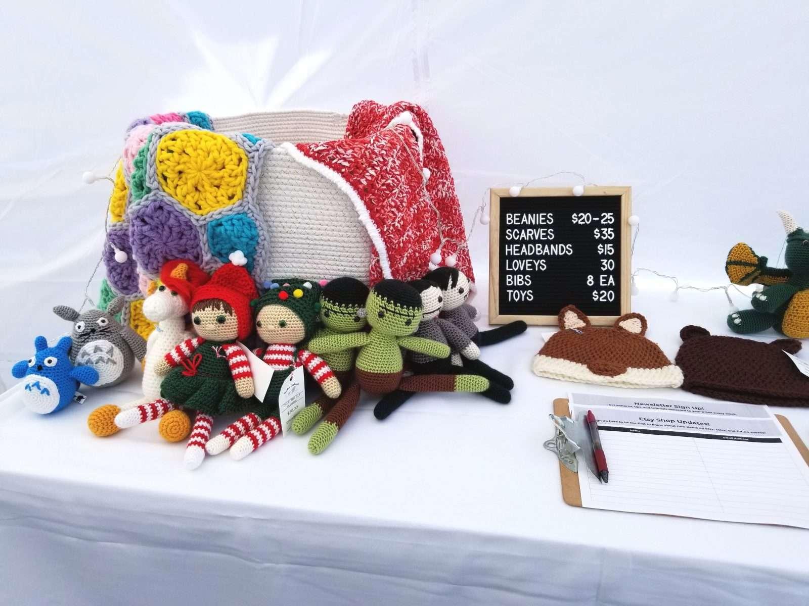 craft fair display tips