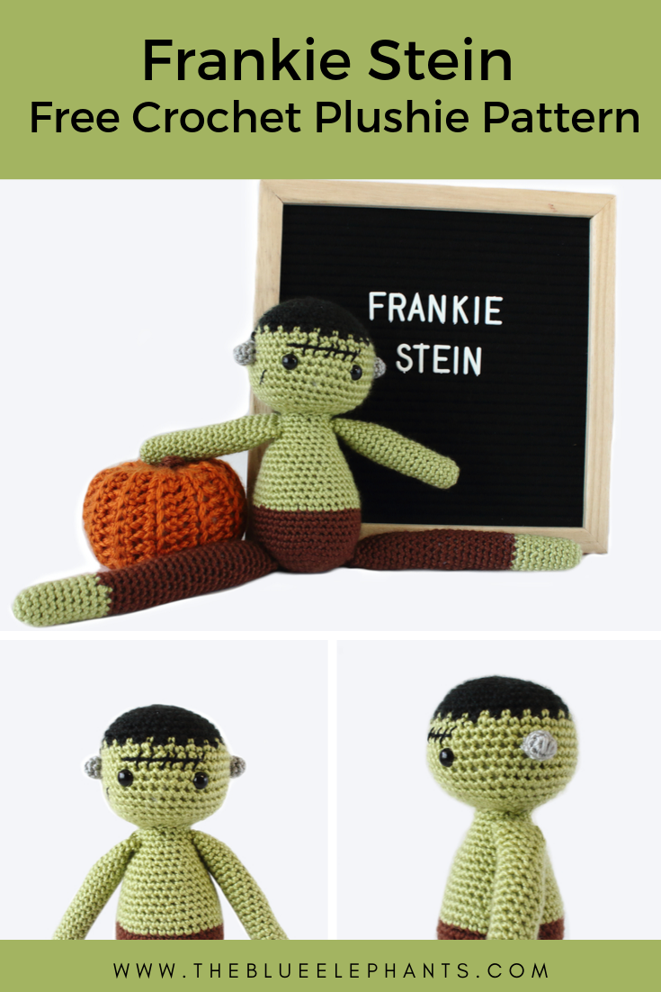 crochet pattern for frankenstein plushie